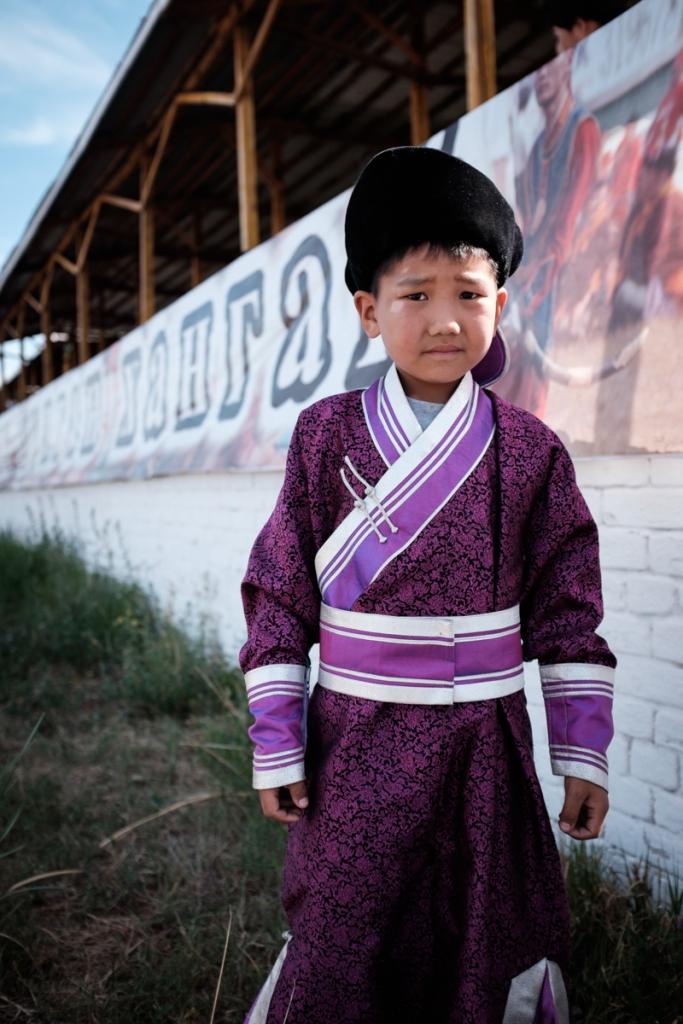 Mongolia-Musician-Child