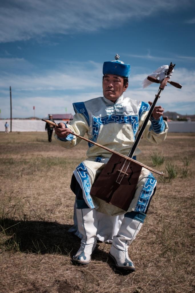 Mongolia-Musician