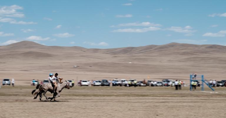 Mongolia-Naadam-Horse-Race-Finish