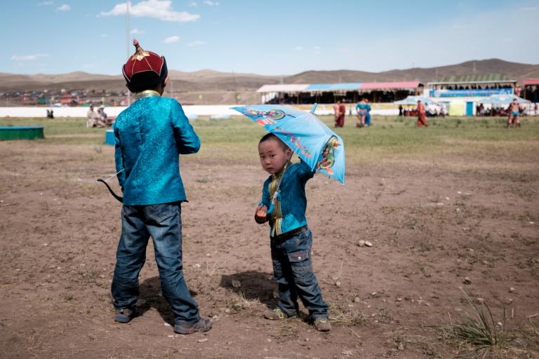 Mongolia-Naadam_Kids