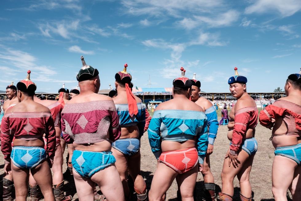 Mongolia-Naadam_Wrestlers1